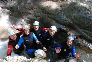 3.Canyoning Lyon grenant découverte