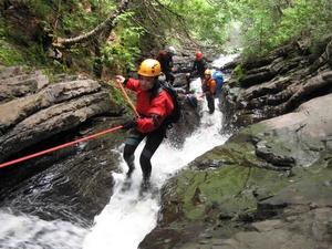 5. Canyoning Lyon Groin Perfectionnement