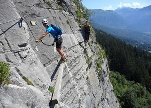 2. VIA FERRATA LYON PLANFOY