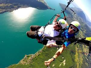 2. Parapente Lac du Bourget Biplace Sensation Plus