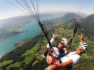 3.Parapente Lac du Bourget Biplace Performance